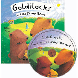 Goldilocks and The Three Bears CD Storybook - Marlon Creations - eBeanstalk