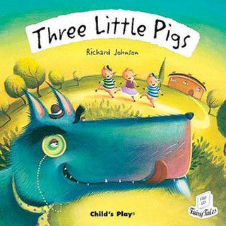 Three Little Pigs CD Storybook - Marlon Creations - eBeanstalk