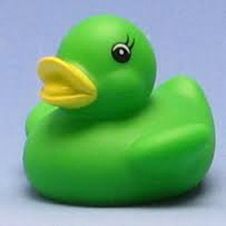 Rubber Ducks - Green - Marlon Creations - eBeanstalk