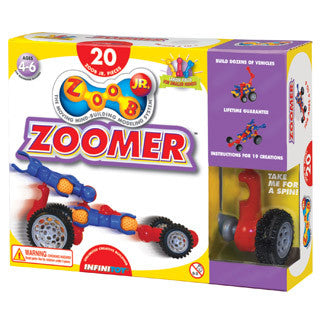 Zoob Jr Zoomer Car Set - InfiniToy - eBeanstalk