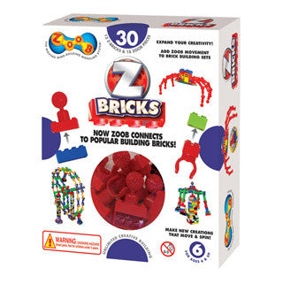 Zoob Z Bricks - 30 Piece - InfiniToy - eBeanstalk