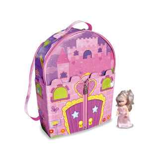 ZipBin Princess Dollhouse Backpack - Neat Oh - eBeanstalk