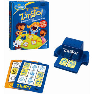 Bilingual Zingo - Spanish - Think Fun - eBeanstalk