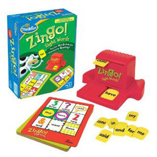 Zingo Sight Words - Think Fun - eBeanstalk