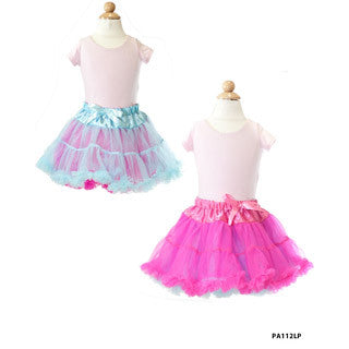 Reversible Pettiskirt PINK/BLUE Medium - My Princess Academy - eBeanstalk