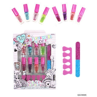 BFF Nail Pedicure Kit - My Princess Academy - eBeanstalk