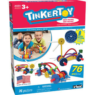 Tinkertoy Wild Wheels Building Set - K Nex - eBeanstalk
