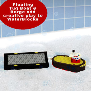 Bath Blocks - Tugboat - Just Think Toys - eBeanstalk