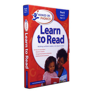 Learn to Read - Pre K LEVEL 2 - Hooked on Phonics - eBeanstalk