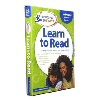 Learn to Read - 1st Grade LEVEL 2 - Hooked on Phonics - eBeanstalk