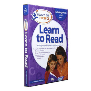 Learn to Read - Kindergarten LEVEL 2 - Hooked on Phonics - eBeanstalk