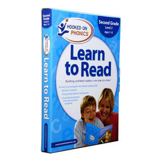 Learn to Read - 2nd Grade LEVEL 2 - Hooked on Phonics - eBeanstalk