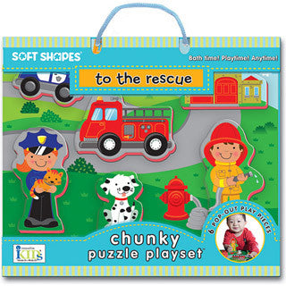 To The Rescue Chunky Puzzle Playset - Innovative Kids - eBeanstalk