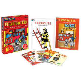 Firefighters Fun Kit - Dover Publications - eBeanstalk