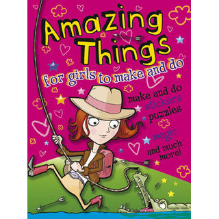 Amazing Things For Girls To Do - Dover Publications - eBeanstalk