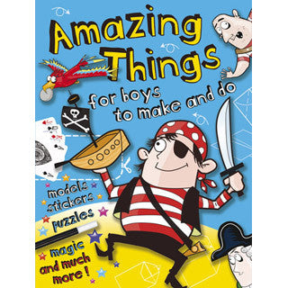 Amazing Things For Boys To Do - Dover Publications - eBeanstalk
