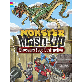 Dinosaur Mash Up - Dover Publications - eBeanstalk