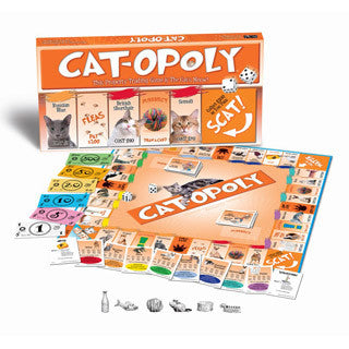 Cat-opoly Game - Late For The Sky Games - eBeanstalk