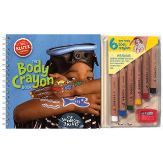 The Body Crayon Book - Klutz - eBeanstalk