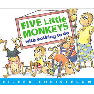 5 Little Monkeys With Nothing To Do - eBeanstalk