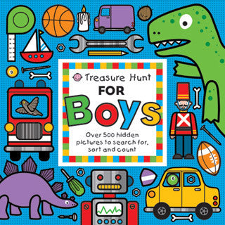 Treasure Hunt for Boys - MacMillan - eBeanstalk