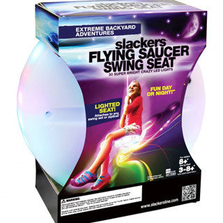 Slackers Night Riderz LED Flying Saucer Swing Seat - Slackers - eBeanstalk