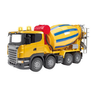 Scania R Series Cement Truck - Bruder - eBeanstalk
