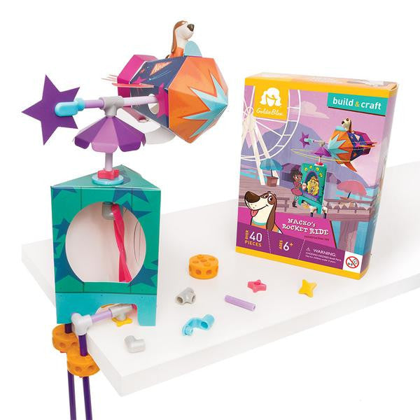 GoldieBlox Luckys High Roller Construction Toy