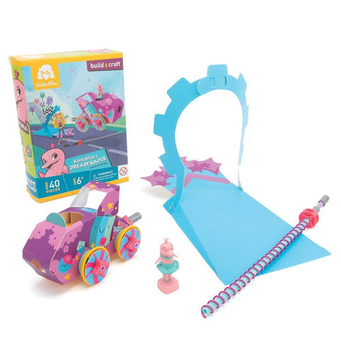 GoldieBlox Katinkas Dream Racer Construction Toy