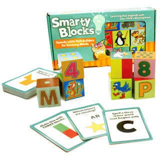 Smarty Blocks - Fat Brain Toys - eBeanstalk