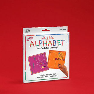 Alphabet Fun Cards - Wikki Stix Co - eBeanstalk