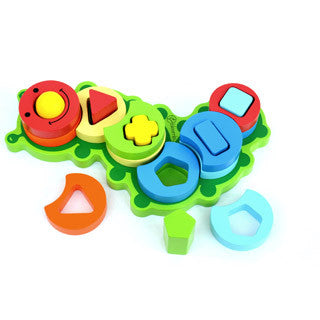 Bloomby Build a Caterpillar Stack and Shape Sorter Set - Bloomby - eBeanstalk