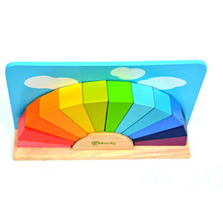 Bloomby Imagine A Rainbow Wooden Blocks - Bloomby - eBeanstalk