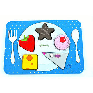 Bloomby Match the Snacks Wooden Toy - Bloomby - eBeanstalk