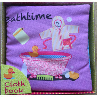 Bathtime Cloth Book - Kidsbooks - eBeanstalk