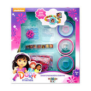 Dora and Friends Interchangeable Charms by Rainbow Loom Roxo - Roxo - eBeanstalk