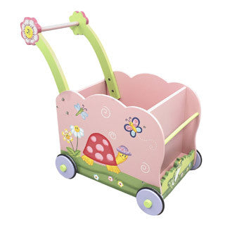 Fantasy Fields - Magic Garden Push Cart - Teamson - eBeanstalk