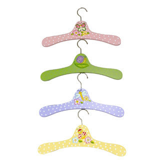 Fantasy Fields - Magic Garden Set of 4 Hangers - Teamson - eBeanstalk