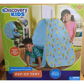 Discovery Kids Woodland Friends Pop-Up Tent - Discovery Kids - eBeanstalk