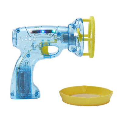 Discovery Bubble Blower Automatic Light Up Blue