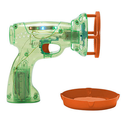 Discovery Bubble Blower Automatic Light Up Green