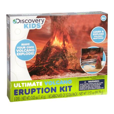 Discovery Ultimate Volcano Eruption Kit
