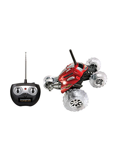 Sharper Image Thunder Tumbler RC Car Red