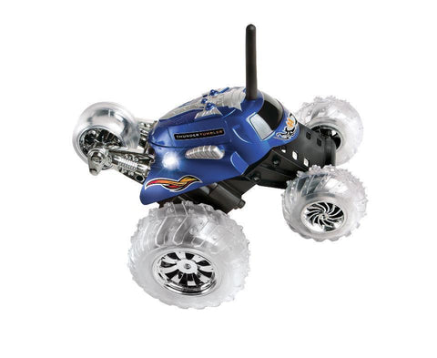 Sharper Image Thunder Tumbler RC Car Blue
