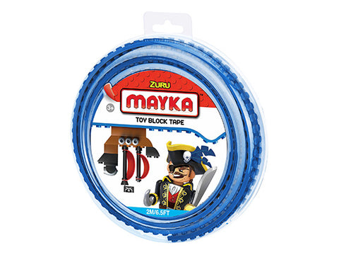 Mayka Toy Block Tape Blue