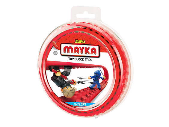 Mayka Toy Block Tape Red