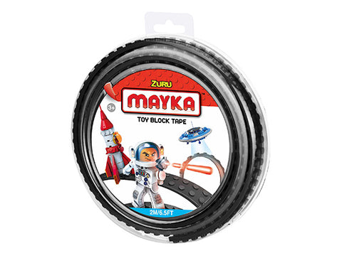 Mayka Toy Block Tape Black