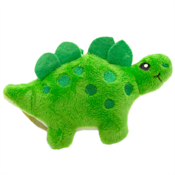 Dino Dudes Backpack Buddies Stegosaurus Apple