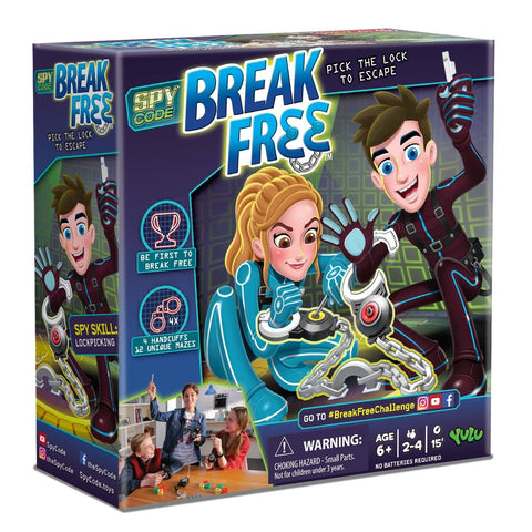 Spy Code Break Free Game
