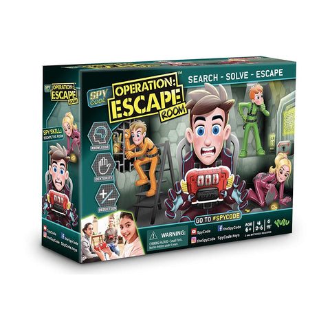 Spy Code Operation Escape Game